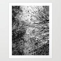 Branches & Leaves Art Print