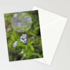 life is an adventure. Stationery Cards