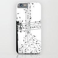 Morning song birds iPhone 6 Slim Case