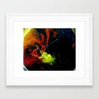 DEBT Framed Art Print