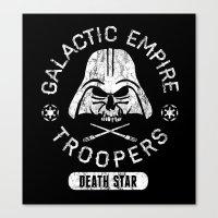 Bad Boy Club: Galactic Empire Troopers Canvas Print