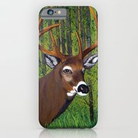 Buck By The Forest iPhone 6 Slim Case