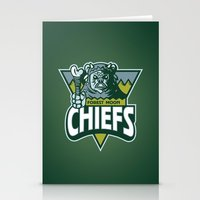 Forest Moon Chiefs - Gre… Stationery Cards