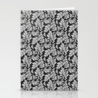 Autumn Leaves Pattern 2 Stationery Cards