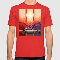 Into the Sun, Ford Mustang 65 KB Mens Fitted Tee Red SMALL