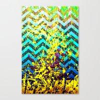 color Spatter set 3 Canvas Print