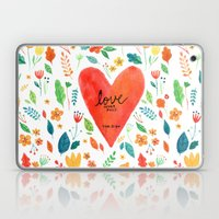 Love never fails Laptop & iPad Skin