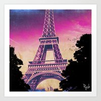pariz Art Print