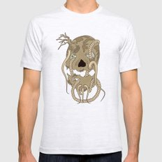 Dead Living by Tree Mens Fitted Tee Ash Grey SMALL