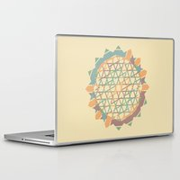 fractal Laptop & iPad Skins featuring Fractal by Zach Terrell