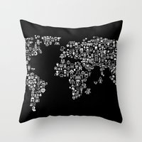 We Are Just Pixels After… Throw Pillow