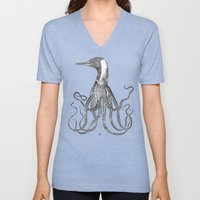 The Octo-Loon Unisex V-Neck