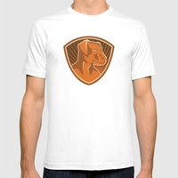 Sheepdog Border Collie S… Mens Fitted Tee White SMALL