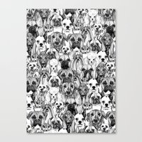 just dogs Canvas Print