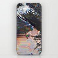 Glitched Landscape 1 iPhone & iPod Skin