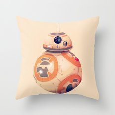 BeeBee-Ate Throw Pillow