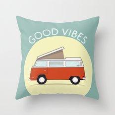 Adventure Mobile - Good … Throw Pillow