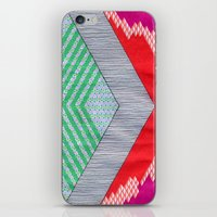 Isometric Harlequin #8 iPhone & iPod Skin