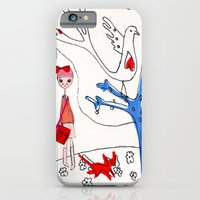 iPhone & iPod Case featuring happy 2 by Trudi Drewett Illustration