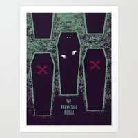 The Premature Burial Art Print