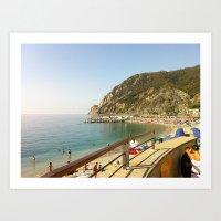 Monterosso al Mare, Cinque Terre, Italy Art Print