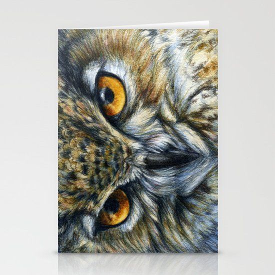 Owl 811 Stationery Card