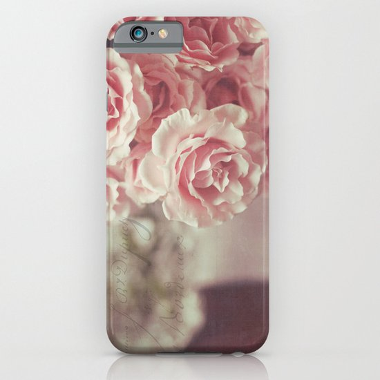 pink roses iPhone & iPod Case