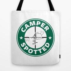Camper Spotted Tote Bag
