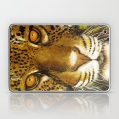 Wildlife Animal Painting - Jaguar Laptop & iPad Skin