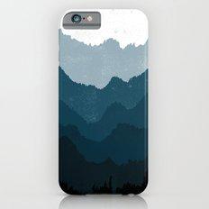 Mists No. 6 - Ombre Blue Ridge Mountains Art Print  iPhone 6 Slim Case