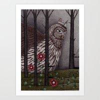 Jorinda And Joringel (1) Art Print