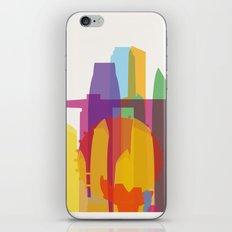 Shapes of Singapore. iPhone & iPod Skin