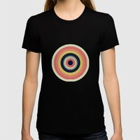 Eye Don't Care Womens Fitted Tee Black SMALL