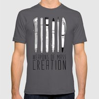 weapons of mass creation Mens Fitted Tee Asphalt SMALL