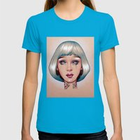 Orion Is Bleeding Womens Fitted Tee Teal SMALL