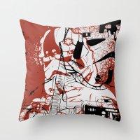 AT-AT Driver And Navigat… Throw Pillow