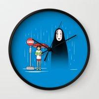 My Lonely Neighbor Wall Clock