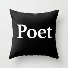 Poet inverse edition Throw Pillow