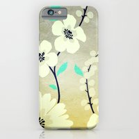 iPhone & iPod Case featuring VINTAGE FLOWERS XXIX - for iphone by Simone Morana Cyla