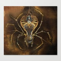 The Clockwork Music - fig.2 Canvas Print