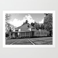 Art Print featuring South Park Community Center by Vorona Photography