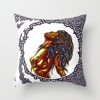 No more chain Throw Pillow