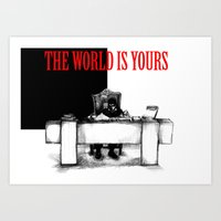 The World Is Yours Sketc… Art Print