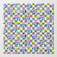 Fun Pattern Canvas Print