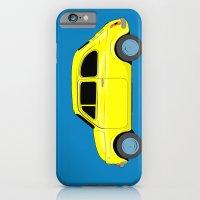 A Tiny Fiat (blue) iPhone 6 Slim Case