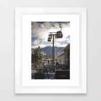 Heavenly Lift Framed Art Print