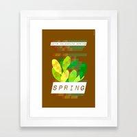 Celebrate Spring Framed Art Print