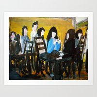 Let's Have A Coffee, And I Will Tell You Why He Is No Good For You  Art Print