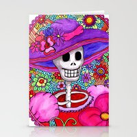 Catrina Doña Beatriz Stationery Cards