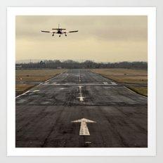 landing... Art Print
